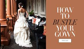 Wedding Dress Bustle Wedding Gowns The Best Bustle For Your Wedding Dress Inside