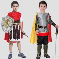 newly ancient roman warrior costume kids halloween cosplay