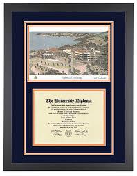 diploma frame pepperdine diploma frame with artwork in