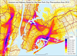 Map Of Usa With Highways by National Transportation Noise Map Us Department Of Transportation
