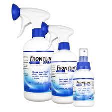 frontline spray fleas u0026 worms