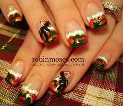 camo christmas robin moses nail christmas nails christmas nails