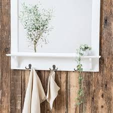 Badezimmerspiegel Mit Ablage Ib Laursen Spiegel Mit Regal Und Haken Wohnen Deko Accessoires