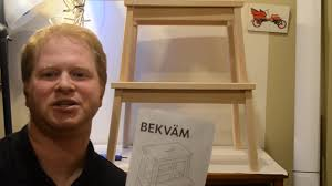 how to build ikea bekvam youtube
