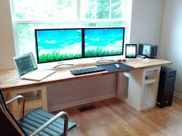 Sturdy Office Desk This Diy Office Desk Is Sturdy Built From Ikea Kitchen