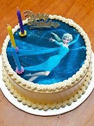 matilda u0027s disney frozen birthday cake