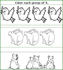 preschool numbers worksheets and activities free preschool color