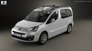 citroen berlingo 360 view of citroen berlingo multispace 2015 3d model hum3d store