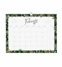 2018 appointment wall calendar by rifle paper co made in usa