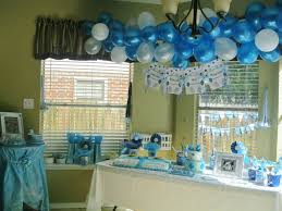 simple baby shower decoration ideas for a boy baby showers design