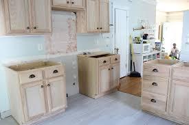 unfinished wood kitchen cabinets kitchen renovation unfinished oak cabinets kitchen