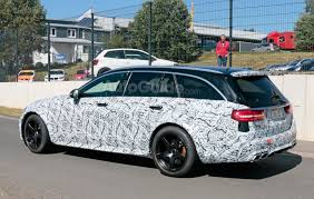 audi wagon black mercedes amg e63 black series wagon spied testing near the