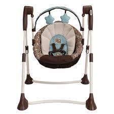 Amazon Baby Swing Chair Amazon Com Graco Swing By Me Portable 2 In 1 Swing Little Hoot
