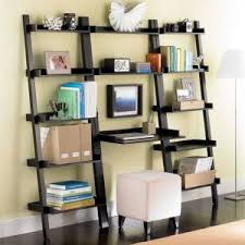 java linea leaning bookcase the container store leaning bookcase