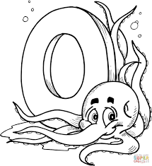letter o is for orange coloring page within coloring pages eson me