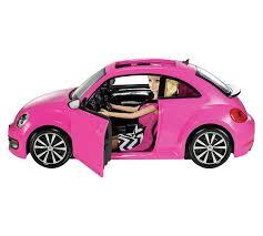 volkswagen beetle buy barbie volkswagen beetle and doll exclusive null argos