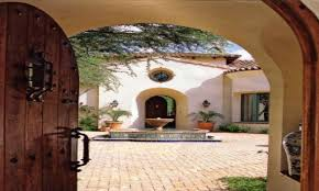 spanish style home design spanish style courtyard home designs small spanish style modern