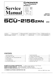 pioneer scu 2156 service manual download schematics eeprom
