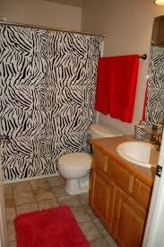 zebra bathroom decor 4pc white zebra bathroom ceramic accessory