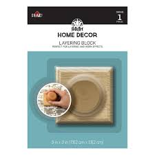 Home Decor Mail Order Catalog Folkart Home Decor Tools Layering Block 36046 Plaid Online