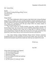 contoh surat pernyataan untuk melamar kerja contoh surat lamaran kerja guru yang baik dan benar lengkap