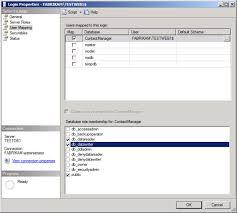 configuring a database server for web deploy publishing