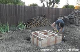 Concrete Firepit Modern Ep46 Concrete Pit