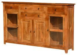 Solid Wood Buffet Table Oklahoma Farmhouse Solid Wood 84 Buffet Sideboard Cabinet