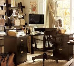 bedford corner desk black pottery barn