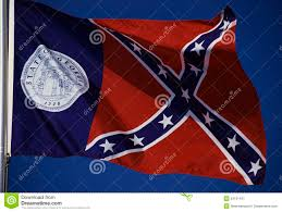 Georgia Flag State Georgia State Flag Stock Image Image Of Nationalistic 23151431
