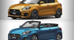what rocks your boat 2017 suzuki swift convertible or 2017