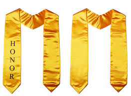 custom stoles graduation honor stoles plain custom the honor cord company