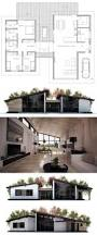 Contemporary Floor Plan by Best 25 Modern Floor Plans Ideas On Pinterest Modern House