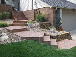 paver stairs angle u2014 railing stairs and kitchen design difficult