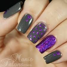 Nail Art Nail Polish Designs Chickettes Com Graffiti Nails With Transfer Foils Re Pin Nail