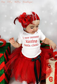 santa claus costume for toddlers i saw mommy kissing santa claus funny christmas baby onesie