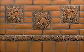 Motawi Tile Backsplash by Spotlight On Ginkgo Motawi Tileworks