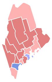 Blank Map Of Rhode Island by Maine Gubernatorial Election 2014 Wikipedia