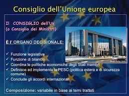 consiglio dei ministri europeo struttura ue