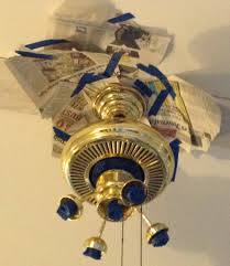 how to paint a ceiling fan 6 dollar ceiling fan update just call me homegirl