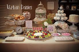 Urban Daisies Vintage Baby Shower
