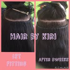 la weave hair extensions amazing la weave hair extensions hair growth hair by kiri