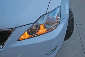 lexus is 250 headlight bulb 2007 lexus is250 a turner with switchback led strips