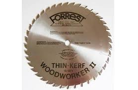 forrest table saw blades forrest thin kerf woodworker ii 10 saw blade