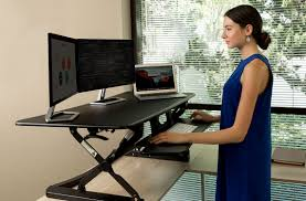 Stand Up And Sit Down Desk by Standing Desk Converters Classic Series Flexispot