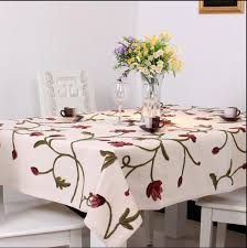 table linen wholesale suppliers aliexpress com buy round square embroidery sale table cloth