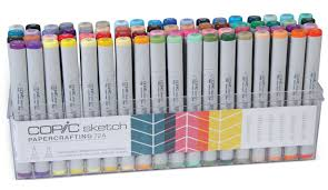 a fresh new look for papercrafting sets and more copic