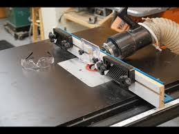 how to install a router table insert plate youtube