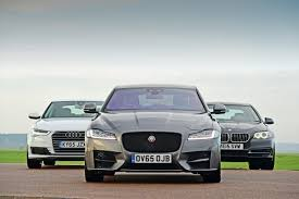 jaguar xf vs audi a6 vs bmw 5 series auto express