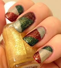 Nail Art Designs For New Years Eve Best 25 Nail Designs For Christmas Ideas On Pinterest Nail Art